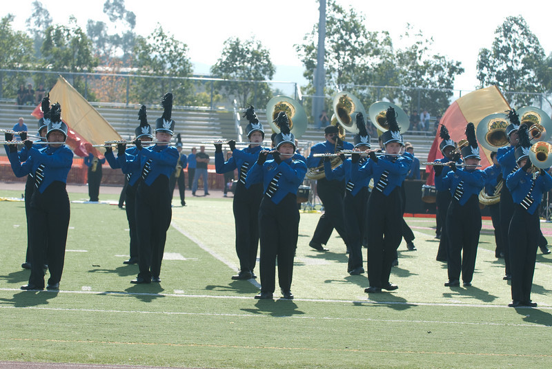 Mission Hills High Band Competition-4195
