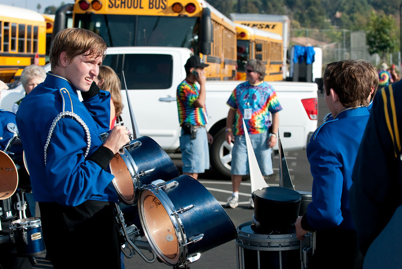 Mission Hills High Band Competition-4362