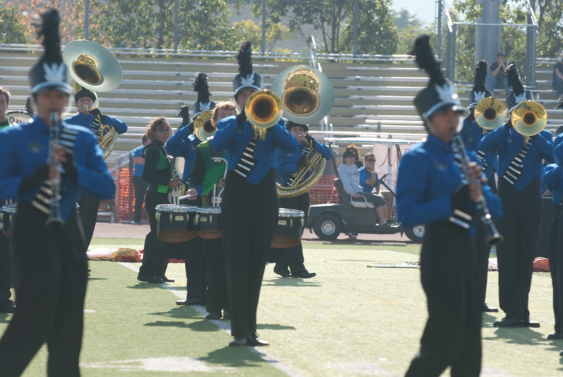 Mission Hills High Band Competition-4251