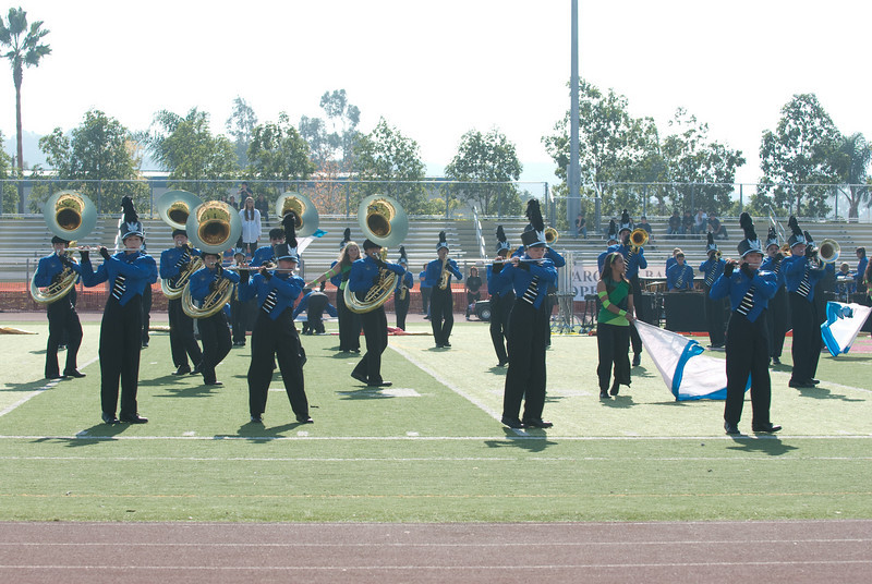 Mission Hills High Band Competition-4218