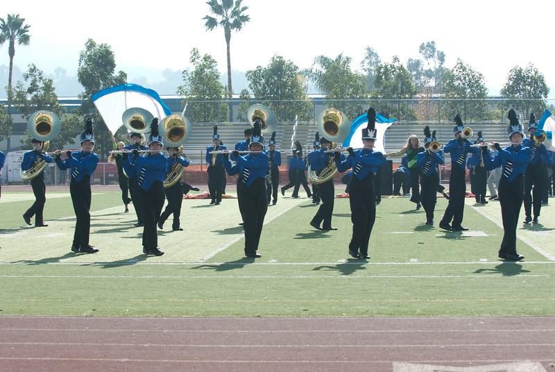 Mission Hills High Band Competition-4216