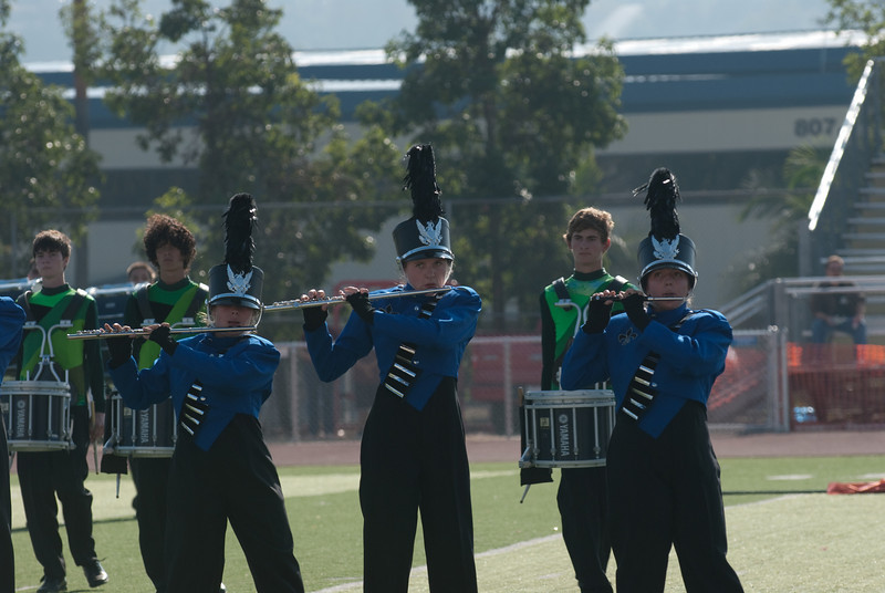 Mission Hills High Band Competition-4230