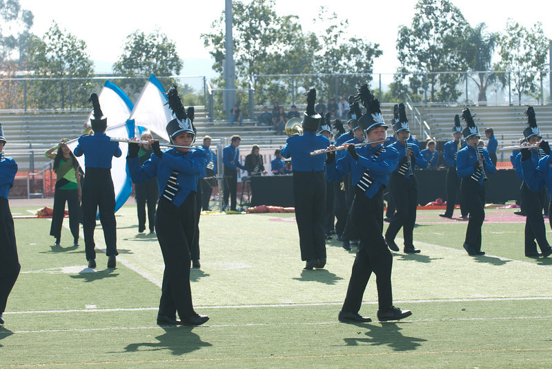 Mission Hills High Band Competition-4208