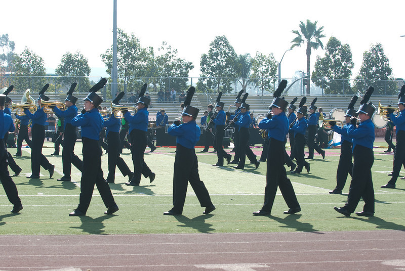 Mission Hills High Band Competition-4201