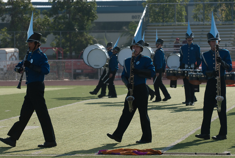 Mission Hills High Band Competition-4343