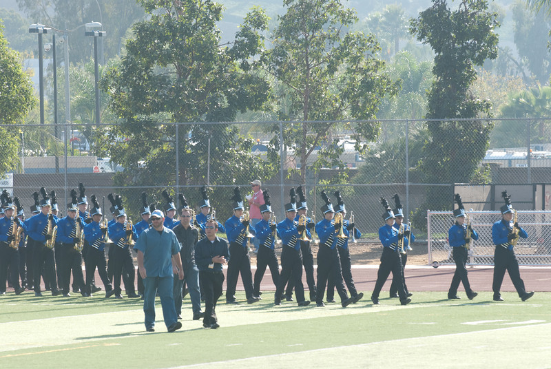 Mission Hills High Band Competition-4135