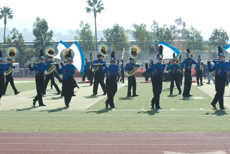 Mission Hills High Band Competition-4215