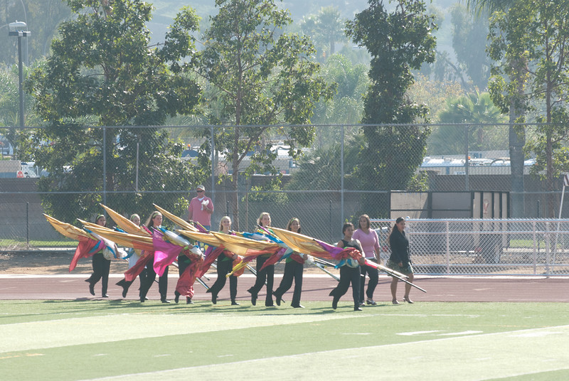 Mission Hills High Band Competition-4133