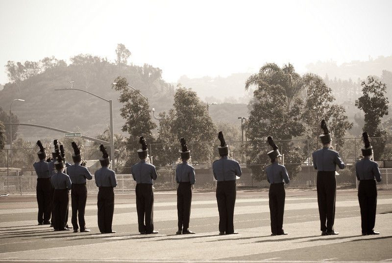 Mission Hills High Band Competition-4137