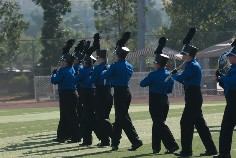 Mission Hills High Band Competition-4233