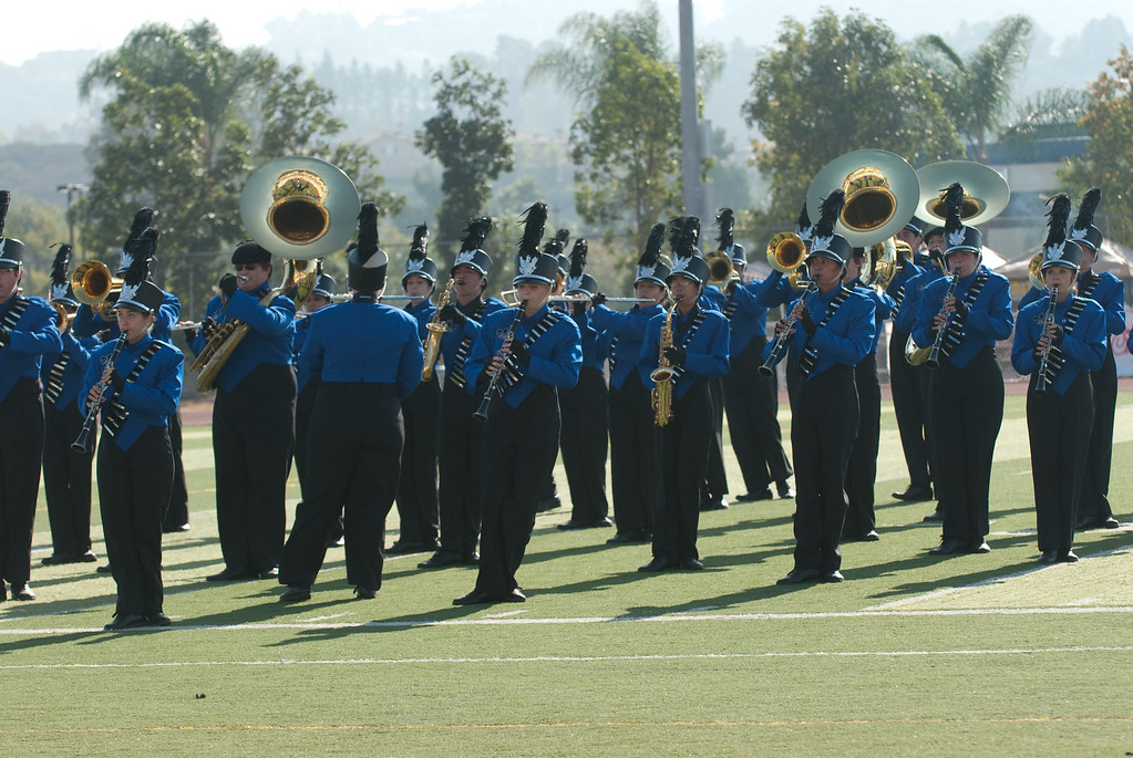 Mission Hills High Band Competition-4160