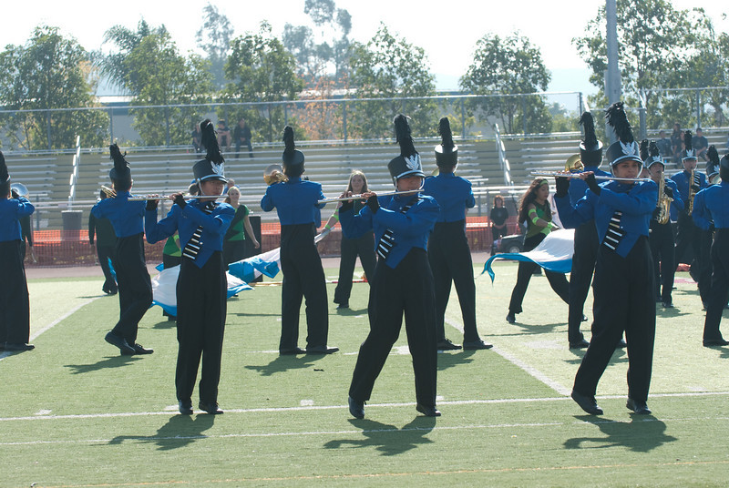 Mission Hills High Band Competition-4210