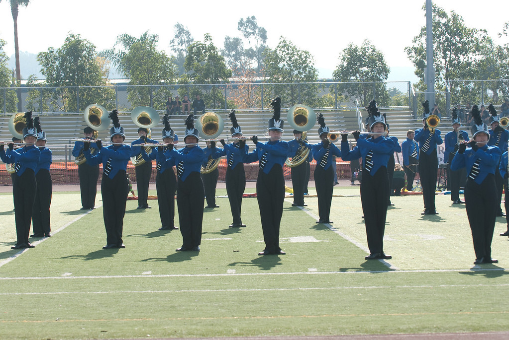 Mission Hills High Band Competition-4184