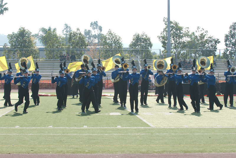 Mission Hills High Band Competition-4181