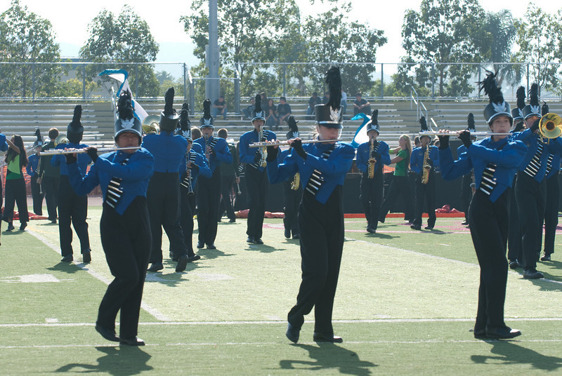 Mission Hills High Band Competition-4205