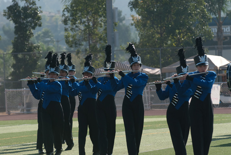 Mission Hills High Band Competition-4232