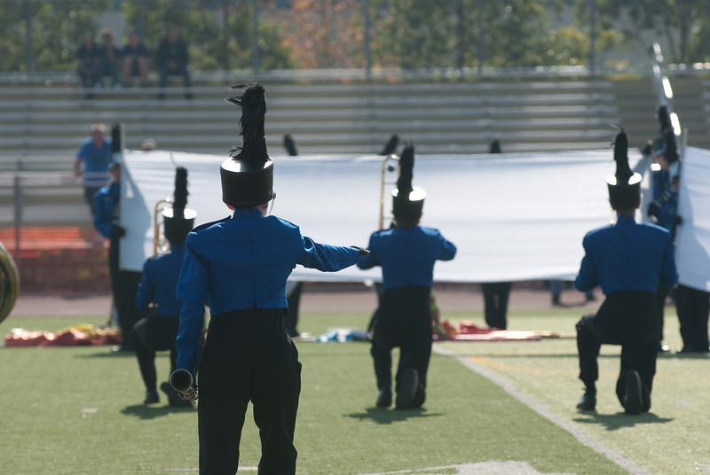 Mission Hills High Band Competition-4237