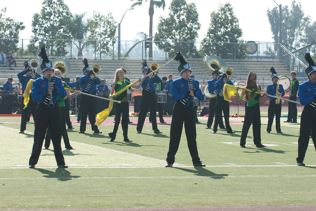 Mission Hills High Band Competition-4172