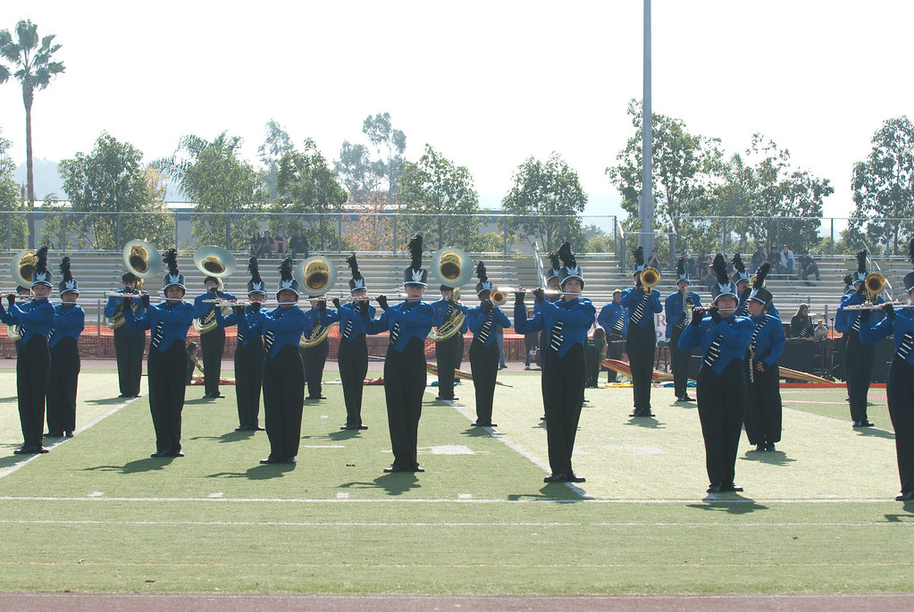Mission Hills High Band Competition-4185