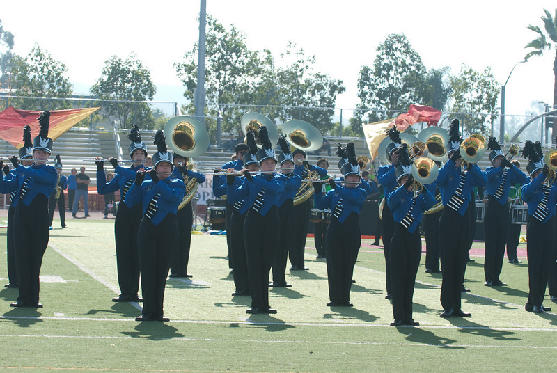 Mission Hills High Band Competition-4196