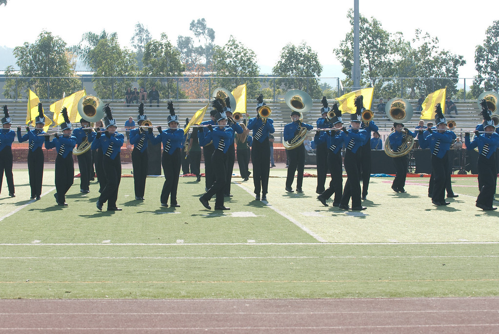 Mission Hills High Band Competition-4180
