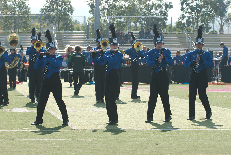 Mission Hills High Band Competition-4253
