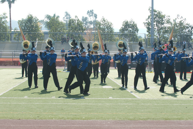 Mission Hills High Band Competition-4188