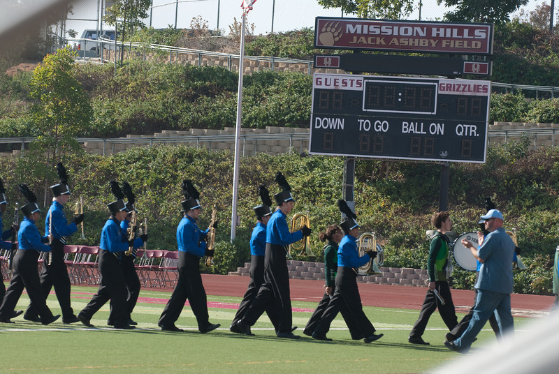 Mission Hills High Band Competition-4273