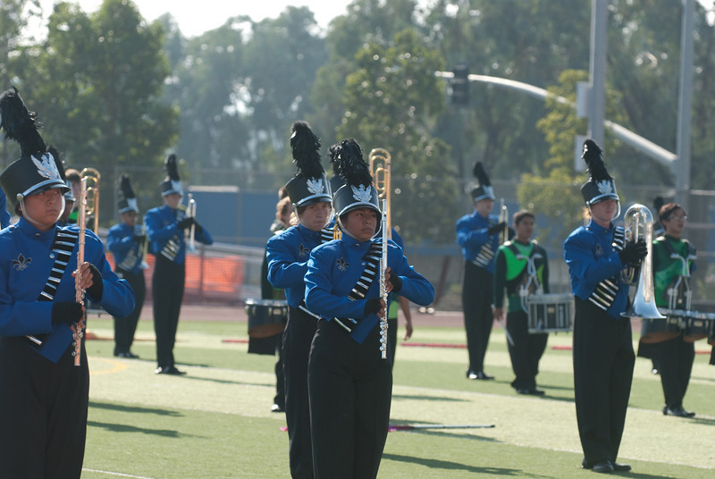 Mission Hills High Band Competition-4270