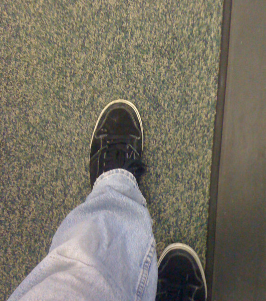 Flying involves alot of walking.