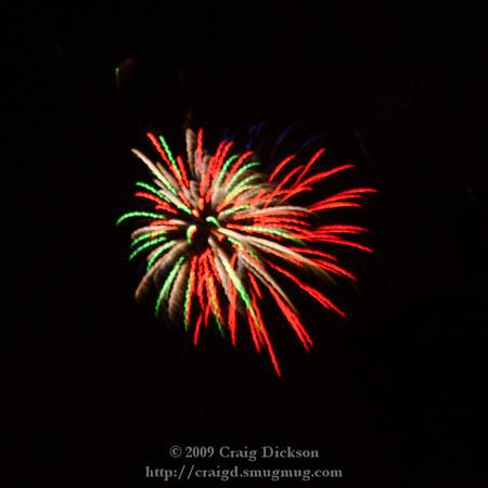 2009.07.04 Foster City Fireworks
