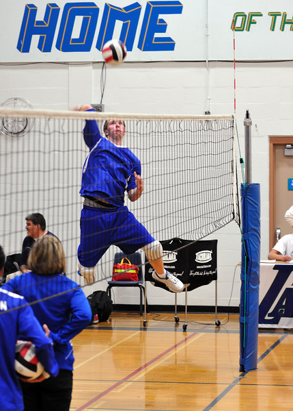 Junior Boys Volleyball at Father Lacombe Sr. High school