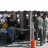 2010-03-20 - Armed Forces Day at Mac Dill AFB - Security checkpoint