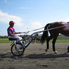 Hambo Pre-Race Parade: Famous horse Vivid Photo