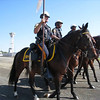 Hambo Pre-Race Parade: Mounted Police