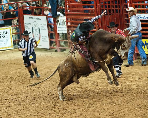 2010-9 Bull Riding Rodeo