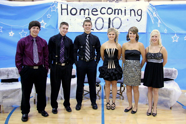2010 Central Valley Homecoming Royalty