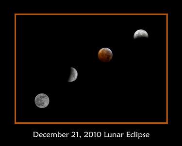 2010 December 21st Lunar Eclipse