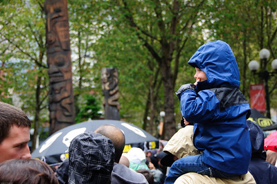 Photo from the 5th annual Lib Tech Downtown Throwdown in Occidental Park, Seattle, WA - October 9 2010
