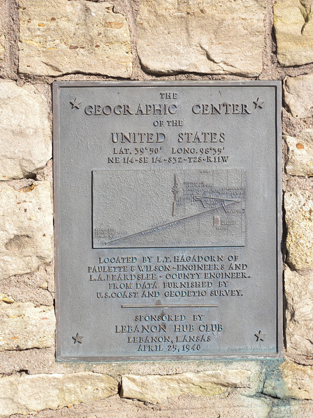 Geographic Center of the US