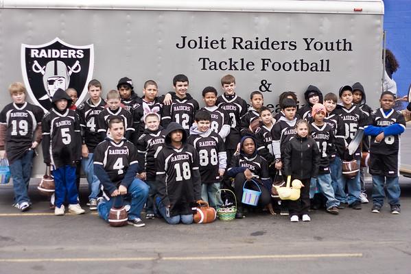 2010 Joliet Easter Parade with Joliet Raiders