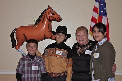 Brandon, Justin, Sue & Kimberly