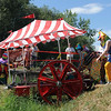 "The ""Who are these Clowns?"" team, has a little trouble with the rough terrain, but makes it through.<br /> The 2010 Longmont Kinetic Sculpture Race was held at Union Reservoir on Saturday. For more photos and a video of Kinetics, go to  <a href=""http://www.dailycamera.com"">http://www.dailycamera.com</a>.<br /> Cliff Grassmick / August 28, 2010"