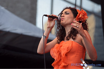 Amanda Martinez at the 2010 Montreal Jazz Festival 1