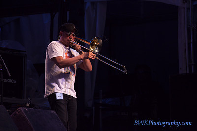 LA-33 at the 2010 Montreal Jazz Festival 8