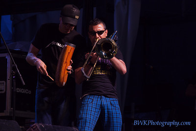 LA-33 at the 2010 Montreal Jazz Festival 10