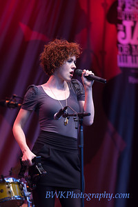 Chic Gamine at the 2010 Montreal Jazz, Festival 7