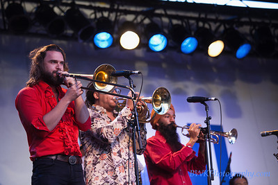 Red Baraat at the Montreal Jazz Festival 2