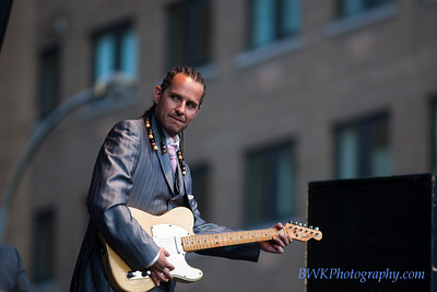 Guy King at the Montreal Jazz Festival 9