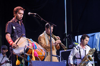 Red Baraat at the Montreal Jazz Festival 1